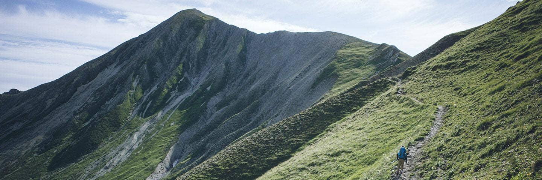Mit Kind und Kegel zu Fuß über die Alpen