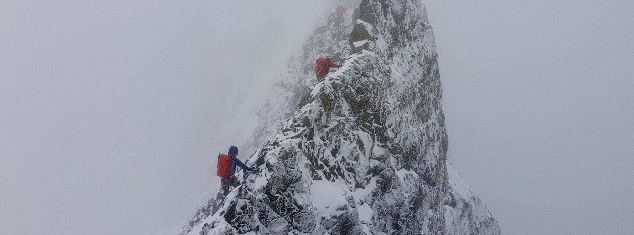 Psycho Bianco Ridge: Dutch Expedition Academy in Bernina