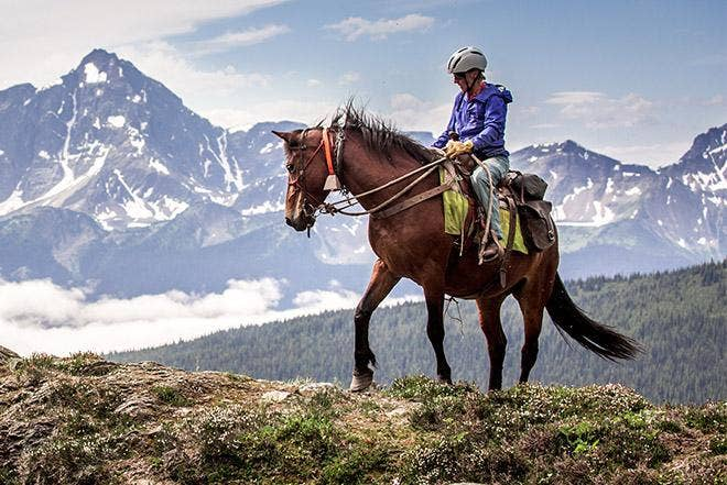 Horse-accessed Ski Touring in British Columbia