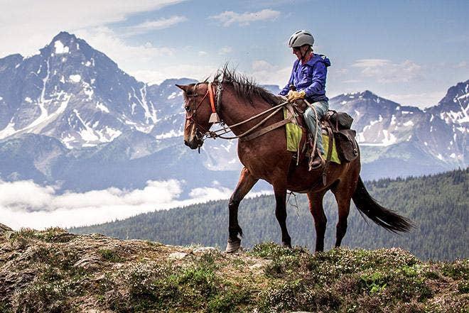Horse-accessed Ski Touring in British Columbia