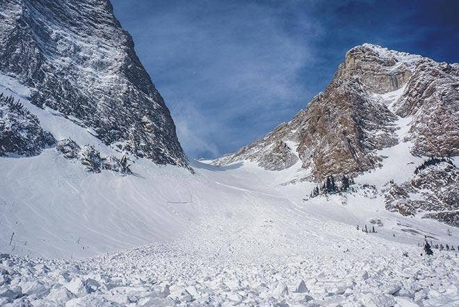 Calculer le risque - avalanche au Canada