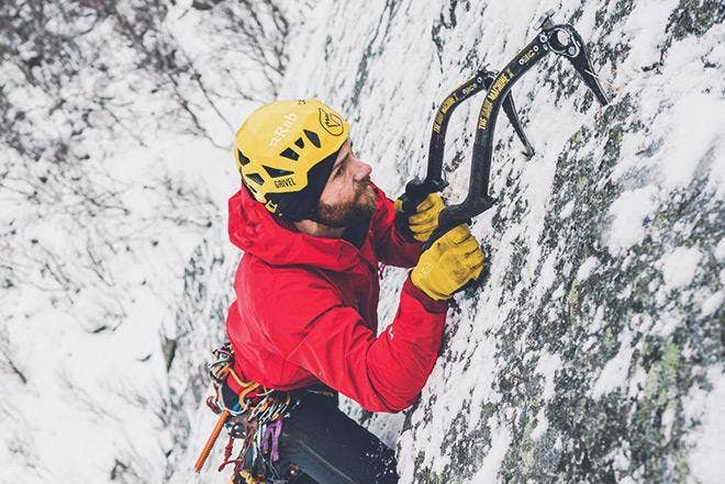 Greg Boswell - Ice Climbing in Lofoten