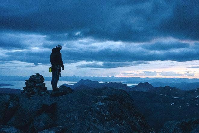 Time to Reminisce – Climbing Norway's National Mountain