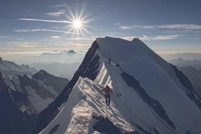 Extrait exclusif du livre intitulé « Alpenglow » (Lueur alpine)