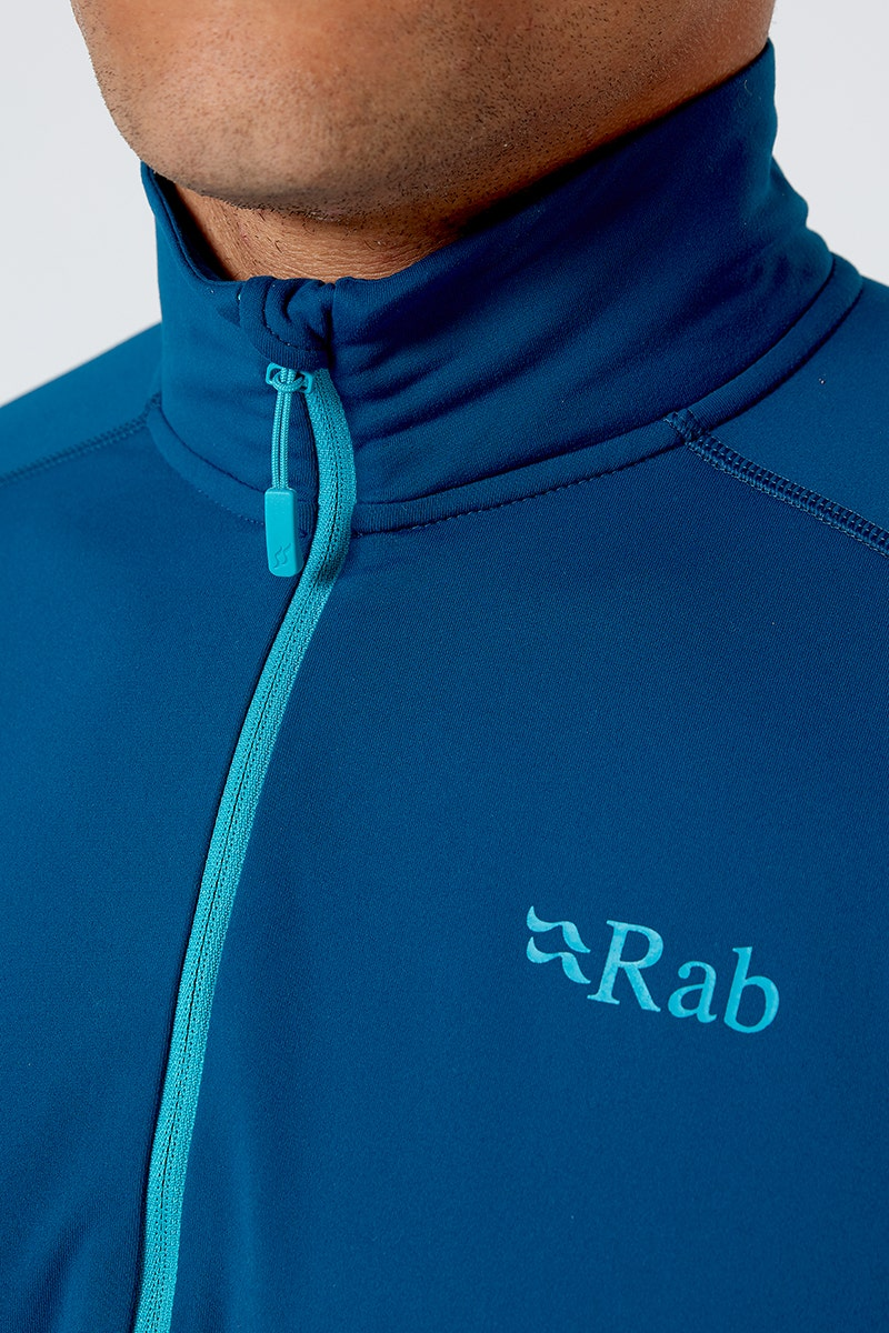 Rab Flux Pull on Quick Drying Baselayer or Lightweight Fleece